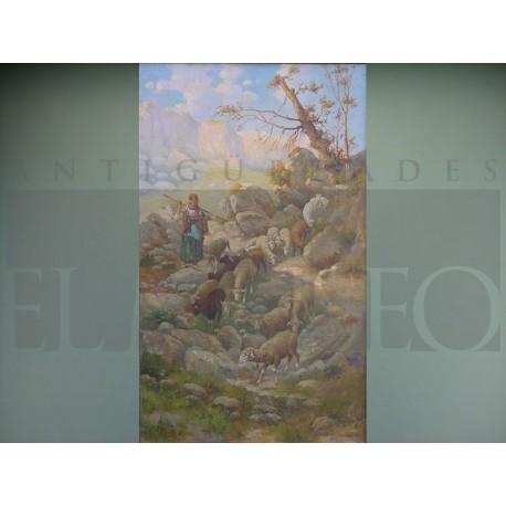 Félix Iniesta - Pastora de ovejas