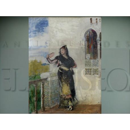 Eduardo León Garrido - Mujer del abanico