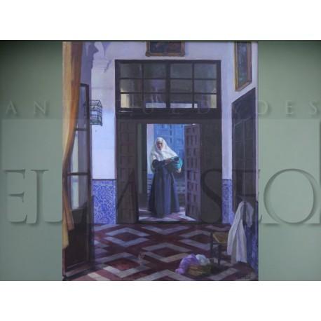 Alfonso Grosso - Interior de un convento