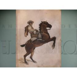 Francisco Hohenleiter - Bandolero a caballo