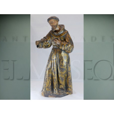 St. Francis sculpture